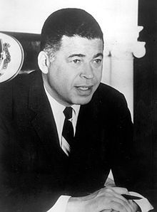 HU Alumnus Edward Brooke. First African American to be popularly elected to the U.S. Senate. As a republican from Massachusetts his defeat over former Democratic Governor Endicott Peabody opened to door for him to serve two terms in the Senate. Brooke enrolled in Howard to study social studies and political science. He graduated in 1941.