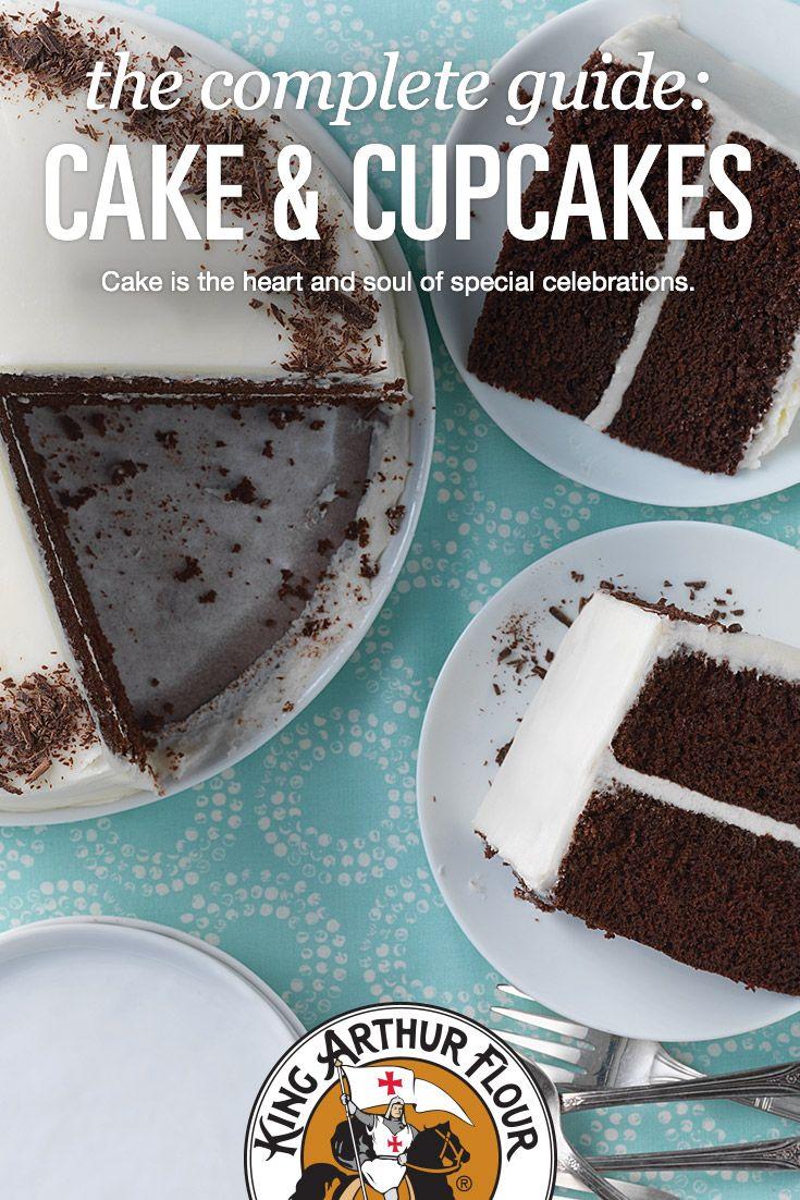 80 best Cakes & Cupcakes images on Pinterest   King arthur flour ...
