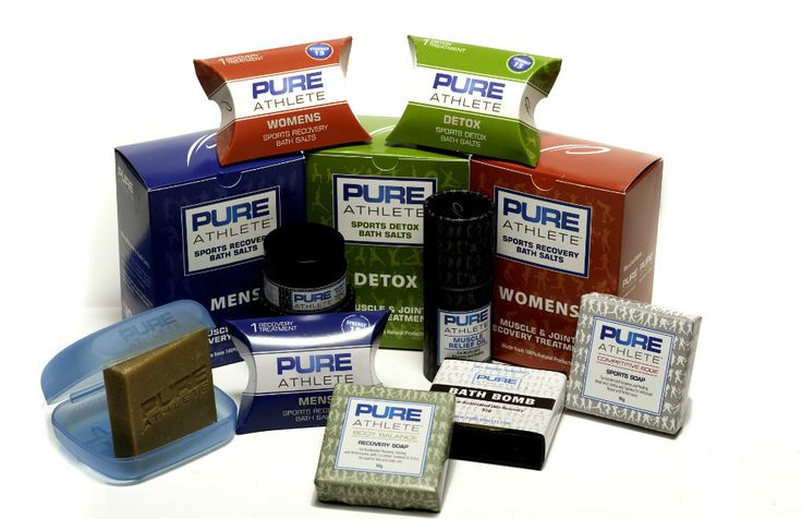 If you'd like to try more products that contain Epsom salt, then check out the website of Pure Athlete, a company that integrates Epsom salt into its muscle recovery products. Pure Athlete packages and sells products such as Epsom-salt based bath salt mixes, soaps, lip balms, muscle relief oils, and more. Happy adventuring, and speedy recovery!