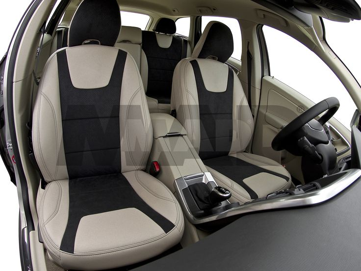 VOLVO XC60 - Individual Auto Design - ALCANTARA® collection,  material1: ALCANTARA® PERFO dark gray, material3: LEATHER LOOK camel ivory