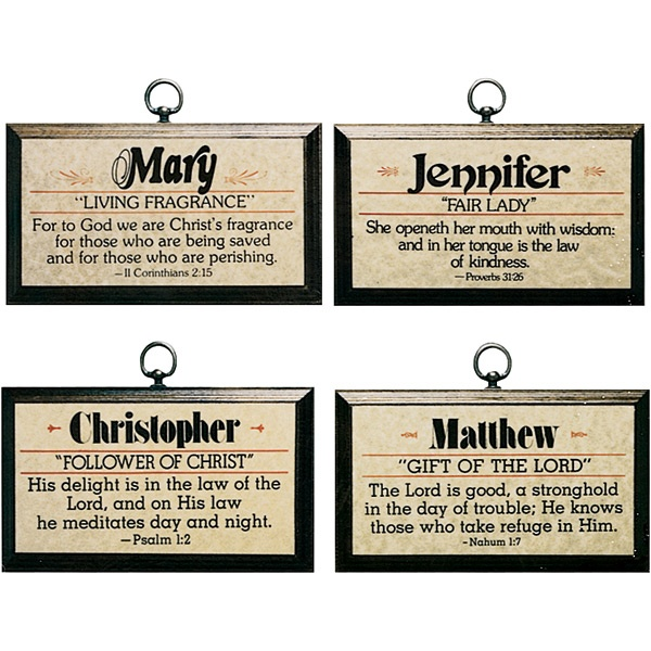 Get personal with a personalized plaque that shares the spiritual essence of a child's name.: Art Ideas, Personalized Plaques, Spiritual Essence, Signs Inspiration