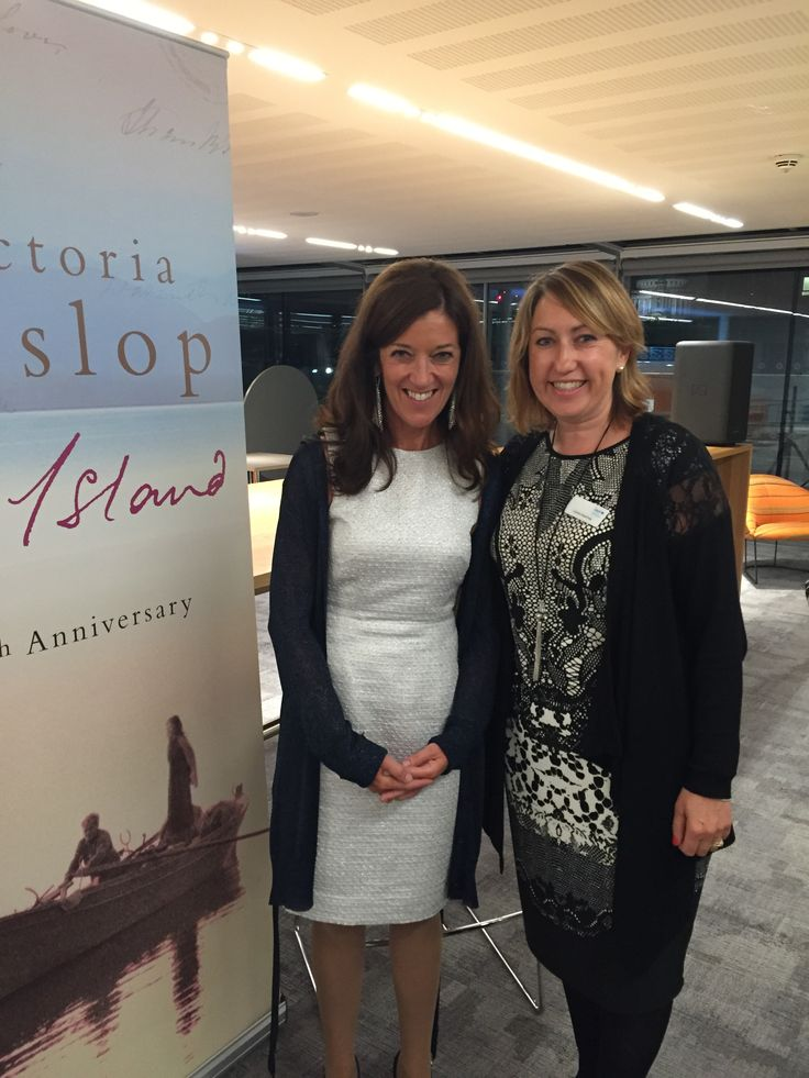 We were lucky enough to attend the 10th anniversary event for Victoria Hislop's 'The Island'. Here's our Events Fundraiser Lizzie with Victoria.