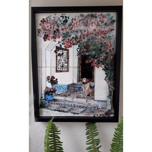 Bodrum evi çini tablo