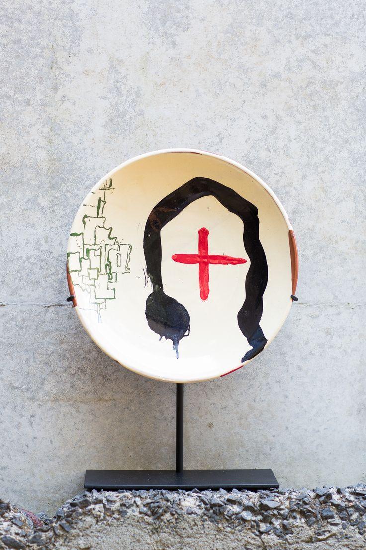 Max Gimblett x Martin Poppelwell 2014 Ceramic