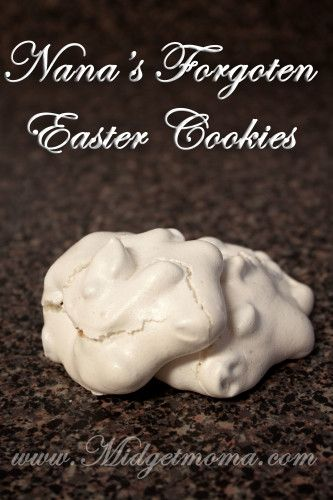 Easter Cookies Recipe - Nanas Forgotten Easter Cookies http://www.midgetmomma.com/2013/03/21/easter-cookies-recipe-nanas-forgotten-easter-cookies/