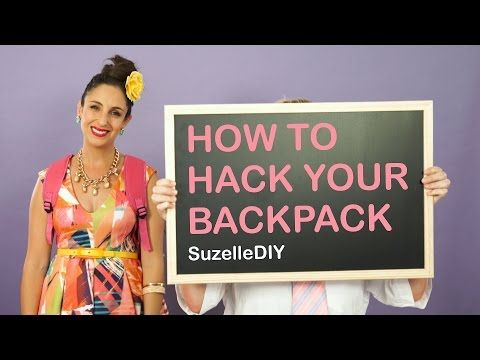 Tips And Tricks To Get The Most Out Of A Backpack Plus, this lady is hilarious!