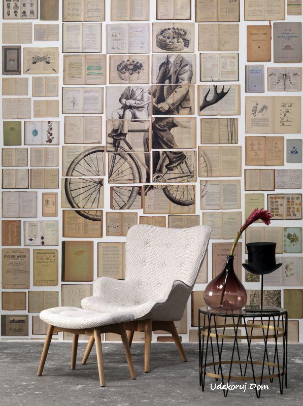 Fototapety ścienne Biblioteca Wallpaper by Ekaterina Panikanova