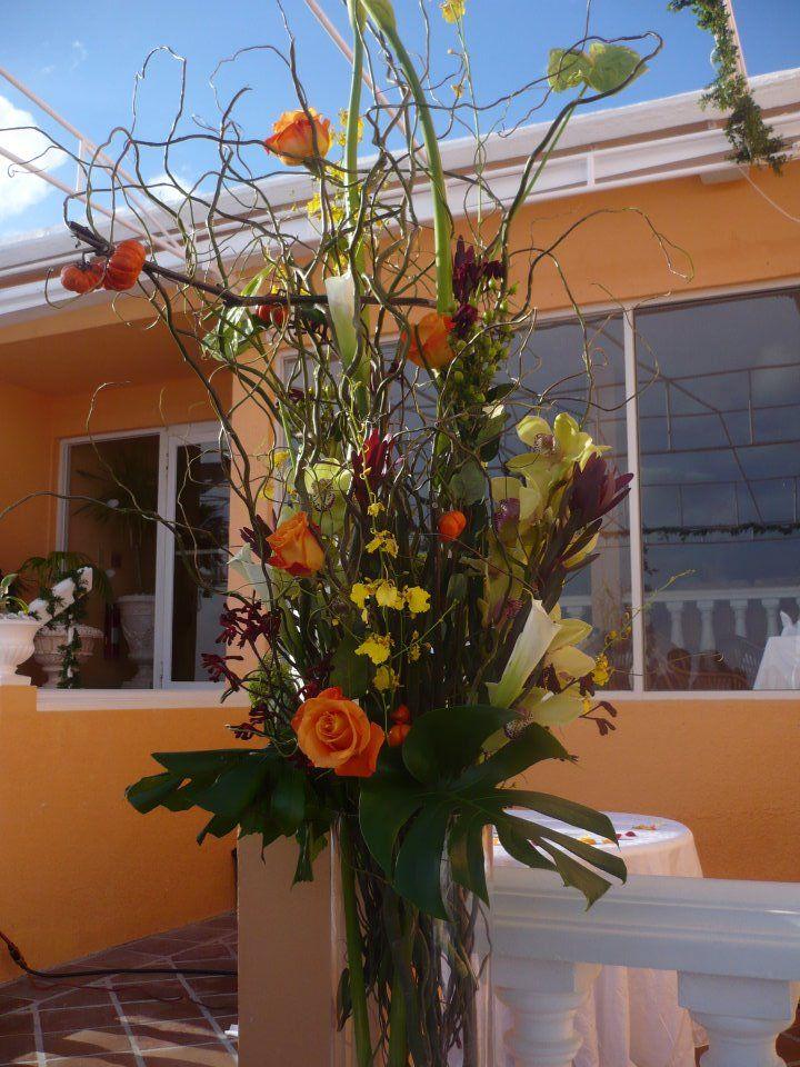 Huge Fresh Arrangement by Kent Florist Mikiko Inoue