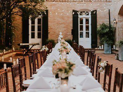 chateau lemoyne french quarter new orleans weddings louisiana wedding venues 70112