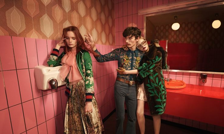 Gucci SS16 campaign  Photography Glen Luchford
