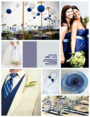 Navy Wedding ideas