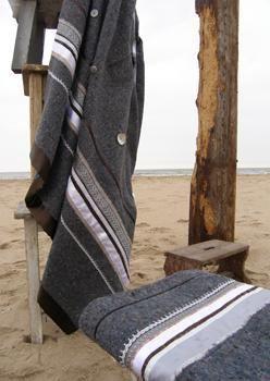 Een enkele LADAK deken voor warm op de bank