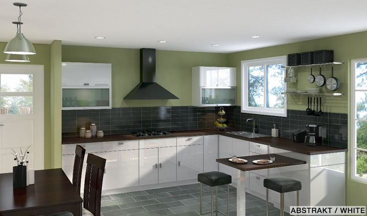 Broken U Shaped Kitchen Designs U Shaped Kitchen Designs