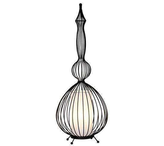 Lampes à Poser - Lampe à poser PADANG Noir