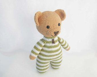 Amigurumi Crochet Patterns for Crochet Teddy Bear Pattern: How to Crochet Easy A…