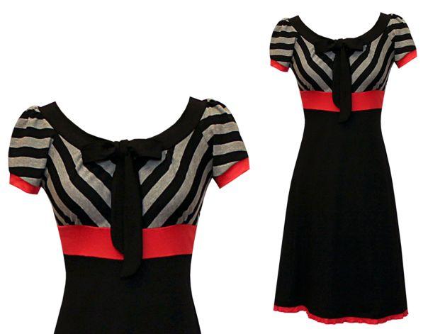 Entdecke lässige und festliche Kleider: OUTLET Kleid Gr.36 Neupreis 79 Euro made by ungiko via DaWanda.com