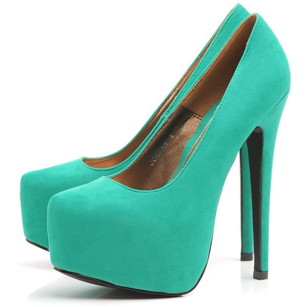 Hot.: Fashion, Style, Color, Highheels, Faux Suede, High Heels, Suede Platform, Platform Shoe, Shoes Shoes
