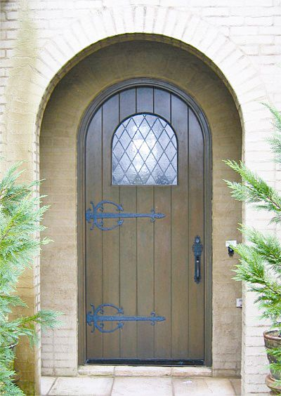 Fresh Radius top Entry Door