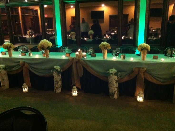Sage Green/Black with Burlap touches.