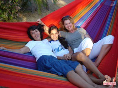 Rainbow Hammock XXL colour #1 http://www.maranonhammocks.ie/hammocks