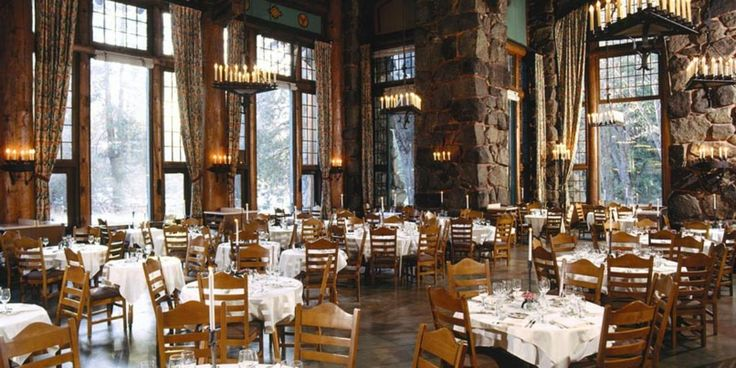 The Ahwahnee Hotel in Yosemite National Park, CA