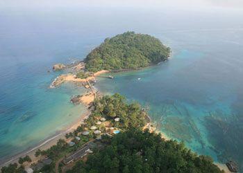 Principe island, in the west coast of Africa.