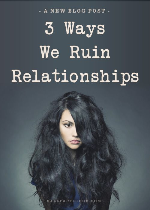 dating ruins friendships In fact, it's more important that you both get some alone time than it was before you started dating  5 behaviors that ruin relationships about dr nerdlove.