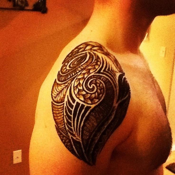 Henna Tattoo For Guys: Henna For Men Portfolio - MEHNDIKA