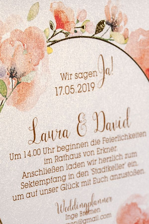 41 best Hochzeitseinladungen wedding invitations images on