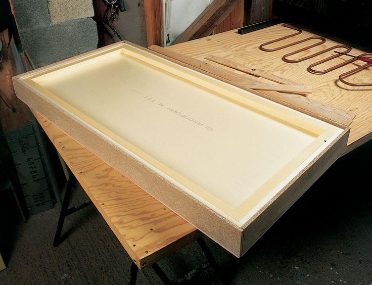 Fabriquer un caisson de panneau solaire   DIY Family   Panneau solaire, Installation panneau ...