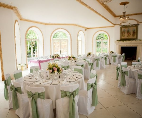 All Tables Will Be Dressed With White Linens White Chair