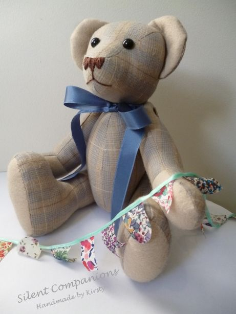 113 Best Images About Fabric Teddy Bears On Pinterest