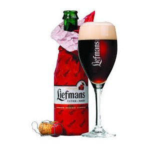 Liefmans Cuvee Brut Cherry Ale  Beer connoisseurs agree there is simply no comparison between Liefmans cherry beer and any old run-of-the-mill cherry beer. That's why the Liefmans Kriek was renamed as 'Liefmans Cuvée Brut.'  Made using a completely different method from Kriek Lambic, Liefmans Cuvée-Brut is a combination of aged brown beer which is mixed with fresh,