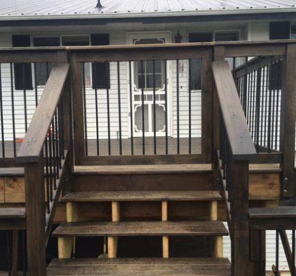 Rebar railing, Railings and Railing