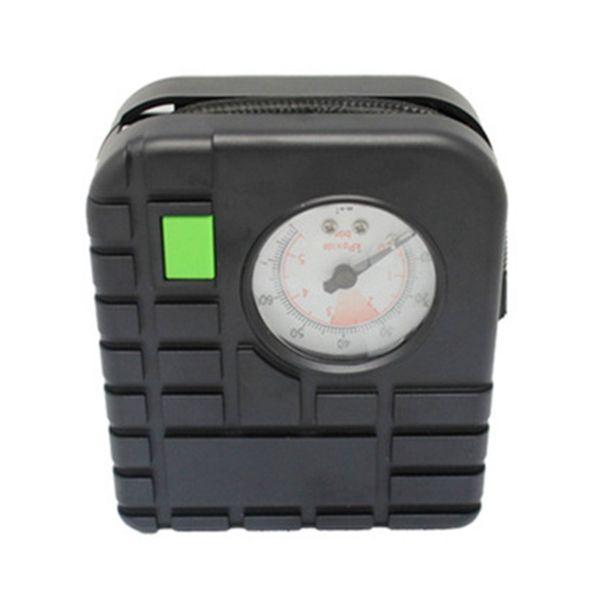 El neumático portátil inflator bombea el coche del compresor de aire electrombile motocicleta con la medida del neumático
