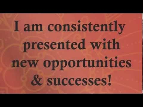Professional Positive Affirmations For Success Wealth Abundance Law of Attraction for Money - YouTube