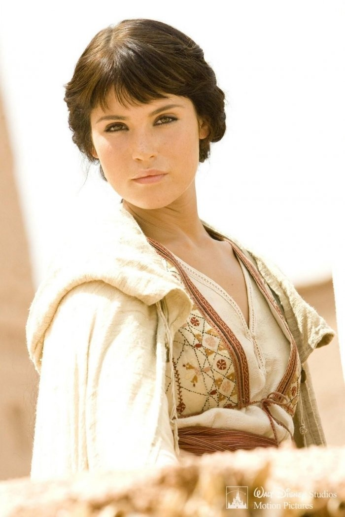 Gemma Arterton as Tamina in `Prince of Persia: The Sands of Time` (2010). Costumes designed by Penny Rose.