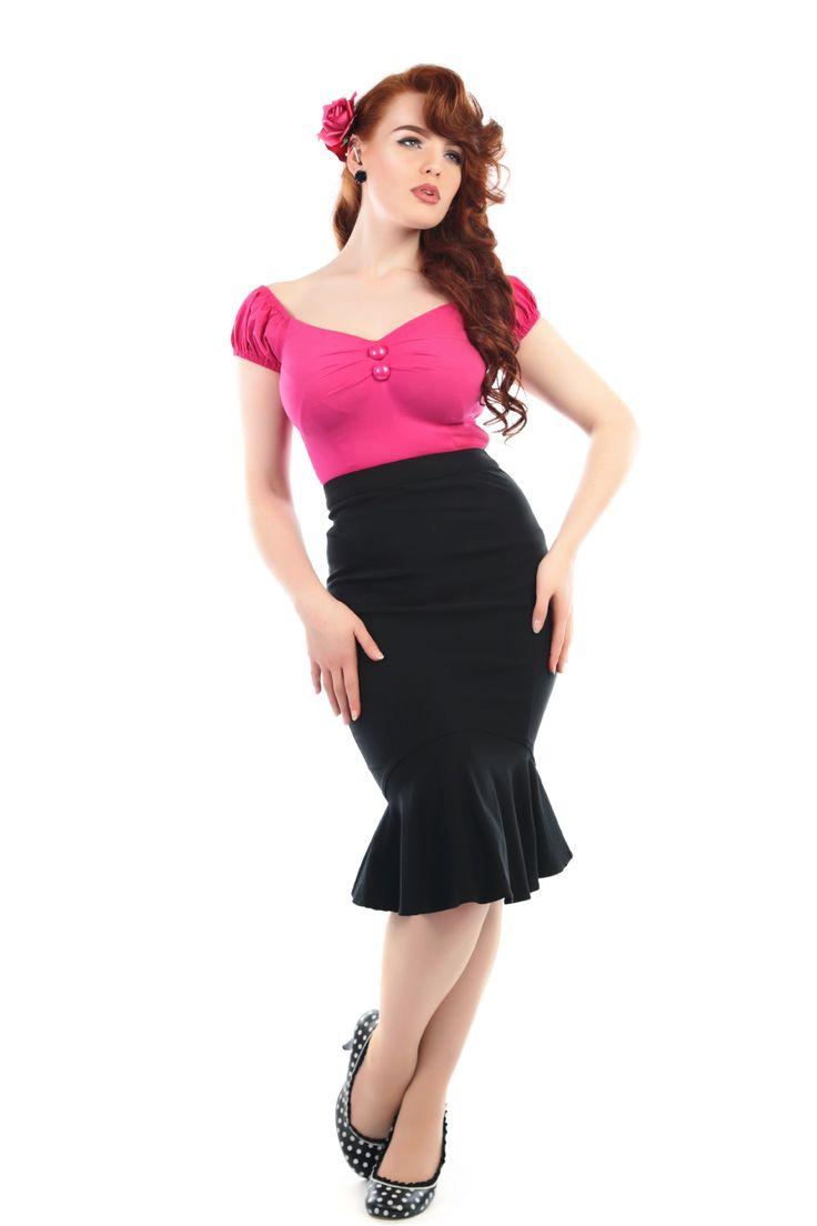 Winifred Fishtail Skirt 0