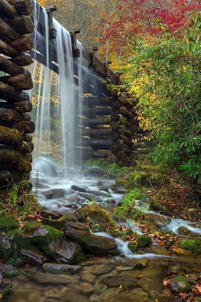 A Mingus Mill, Blue Ridge-hegység, Észak-Karolina