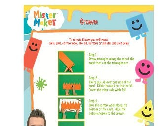 Mister Maker - Craft - ABC4Kids