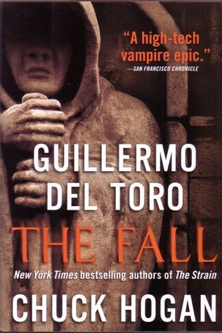 The Fall by Guillermo del Toro.  Second in The Strain which is about to start on Syfy as a minseries.  Finished 5/8/14.