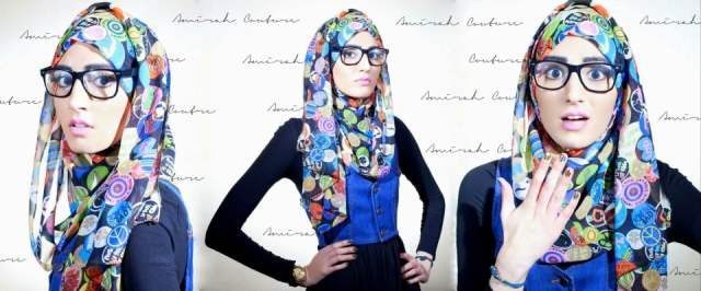 Amirah Couture Hijab Collection AC Hijab Line 2012 13 by Amirah Couture 3