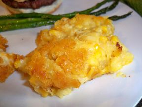 Quick n Easy Corn Pudding Recipe from RecipeTips.com!