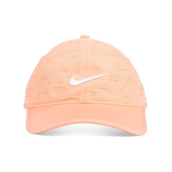 Nike Golf Womens Performance Cap ($26) ❤ liked on Polyvore featuring accessories, hats, caps, fillers, accessories - hats, nike golf hats, nike golf, nike golf cap and cap hats