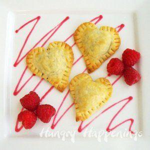 Heavenly Chocolate Ravioli Hearts