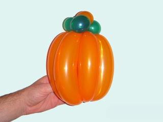Тыква 1 Дезайн Фигур из Воздушных шариков