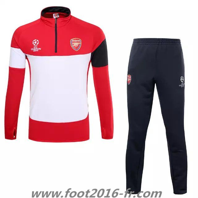 boutique de nouveau survetement de foot arsenal rouge blanc saison 2015 2016 prix prix. Black Bedroom Furniture Sets. Home Design Ideas