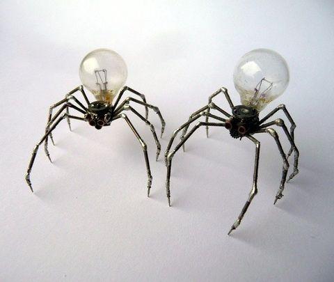 Arte: Esculturas de engranajes reciclados | mypinkadvisor.com