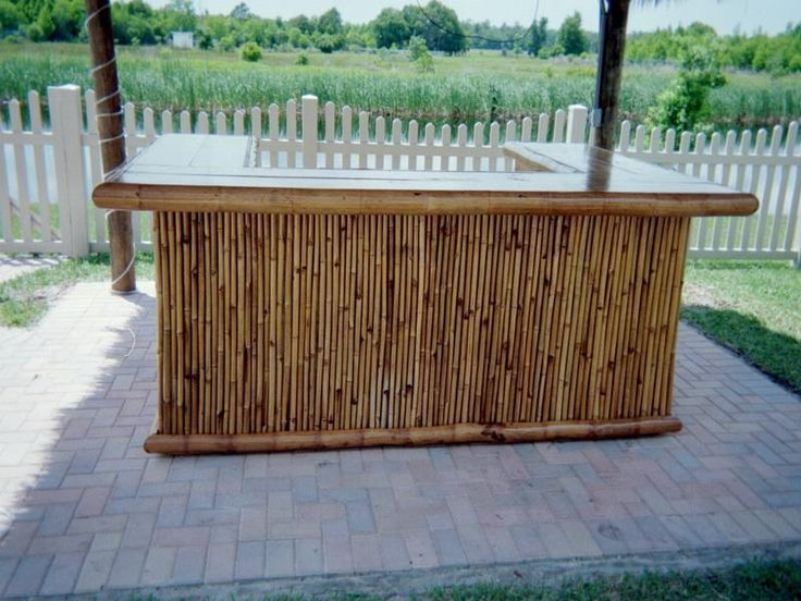 Free Plans Building Outdoor Bar | Tiki Outdoor Bar Plans