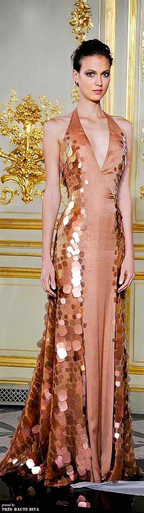 Rami Al Ali HC Autumn 2013  (The Gown Boutique) --- this would bake an excellent dragon dress (maybe in other colors) ... or girl-on-fire dress...